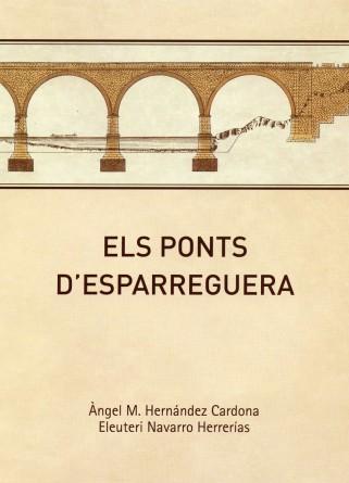 Coberta del llibre Els ponts d'Esparreguera reduïda